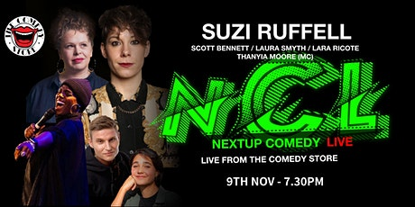 NextUp Comedy Live From The Comedy Store London - 3rd Edition tickets