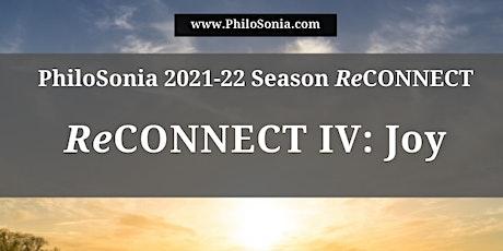 """ReCONNECT IV: Joy"" tickets"