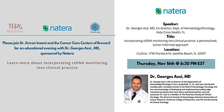 Dr. Imami invites you to an educational evening sponsored by Natera tickets