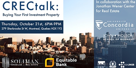 CRECTalk 1 - Buying Your First Investment Property billets