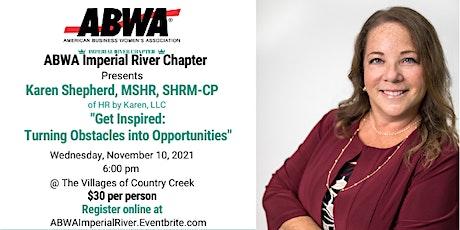 November - Karen Shepherd, MSHR, SHRM-CP of HR by Karen, LLC tickets