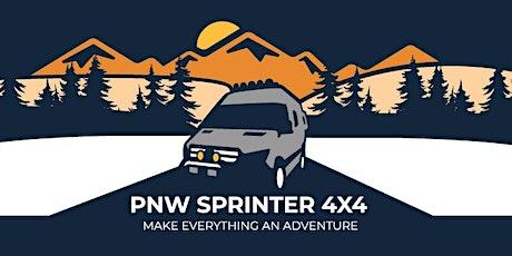 PNW Sprinter 4x4 Drive-In Movie Night (Overnight)  -  Whidbey Island, WA tickets