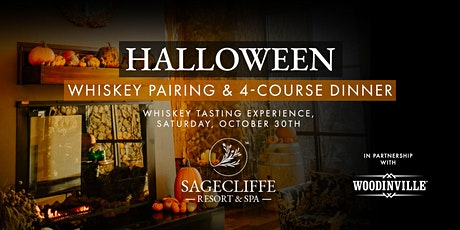 Halloween Whiskey Pairing with Woodinville Whiskey Co. tickets