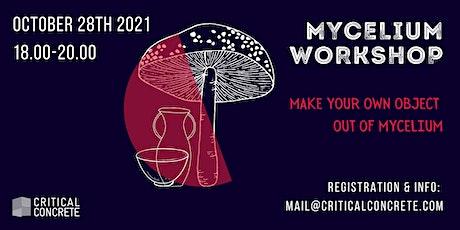 Mycelium Workshop - Make your own object out of Mycelium bilhetes