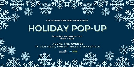 Van Ness Main Street 6th Annual Holiday Pop-Up! tickets