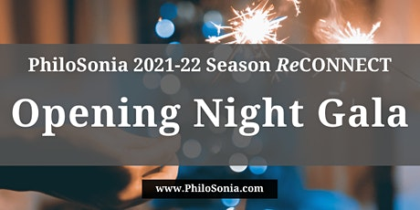 PhiloSonia Opening Night Gala tickets