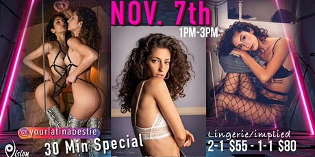 Lingerie/Implied photography 2 photographers per session or 1 on 1 tickets