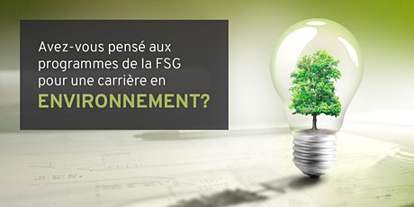 Avez-vous pensé aux programmes de la FSG pour une carrière en environnement billets