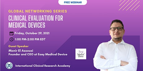 Clinical Evaluation for Medical Devices tickets