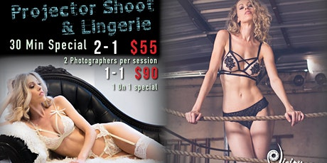 Projector or Lingerie Photography with Enola tickets