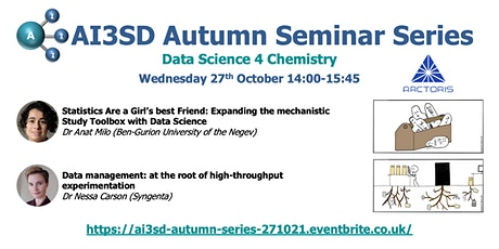 AI3SD Autumn Seminar III: Data Science 4 Chemistry tickets