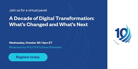 A Decade of Digital Transformation: What's Changed and What's Next tickets