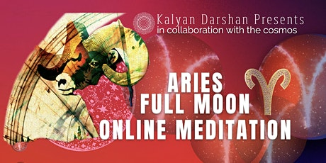 October's Full Moon in Aries - Online Meditation tickets