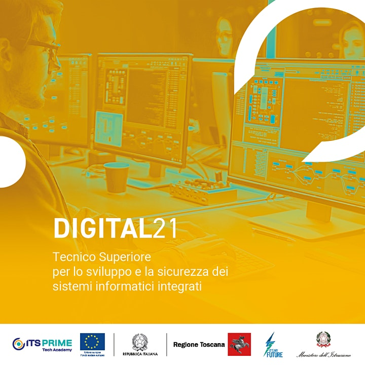 Immagine ITS Prime-Tech Academy: Open day corso DIGITAL21