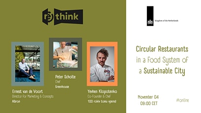 Circular Restaurants in the Food System of a Sustainable City tickets