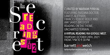 Tartan Turban Secret Readings #32 tickets