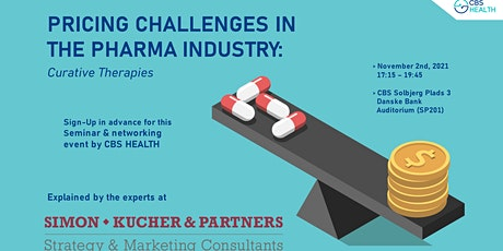 Pricing Challenges in the Pharma Industry: Curative Therapies tickets