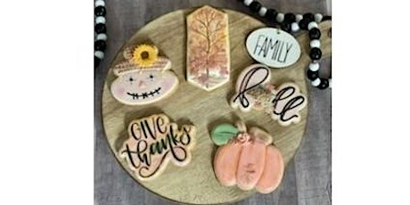 Fall / Thanksgiving Theme Cookie Decorating Class tickets