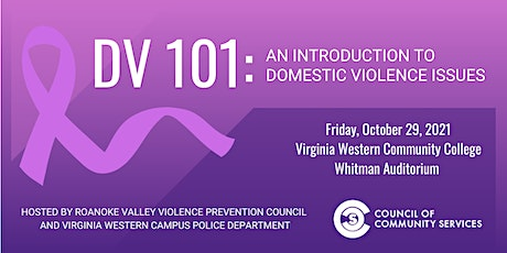 Domestic Violence 101: An Introduction to Domestic Violence Issues tickets