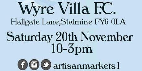 Christmas Artisan Food & Craft Market at Wyre Villa FC tickets