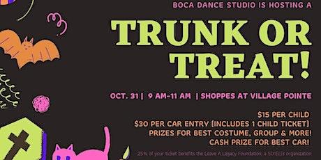 Trunk or Treat Boca Raton tickets