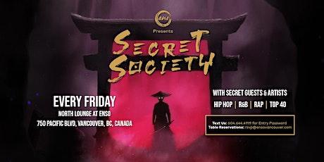 SECRET SOCIETY tickets