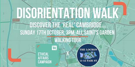 PFW'21 'The Real Cambridge' Disorientation Walk tickets
