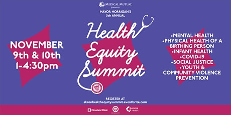 Mayor Horrigan's 2021 Virtual Health Equity Summit tickets