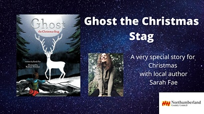 Ghost the Christmas Stag at Hexham Library tickets