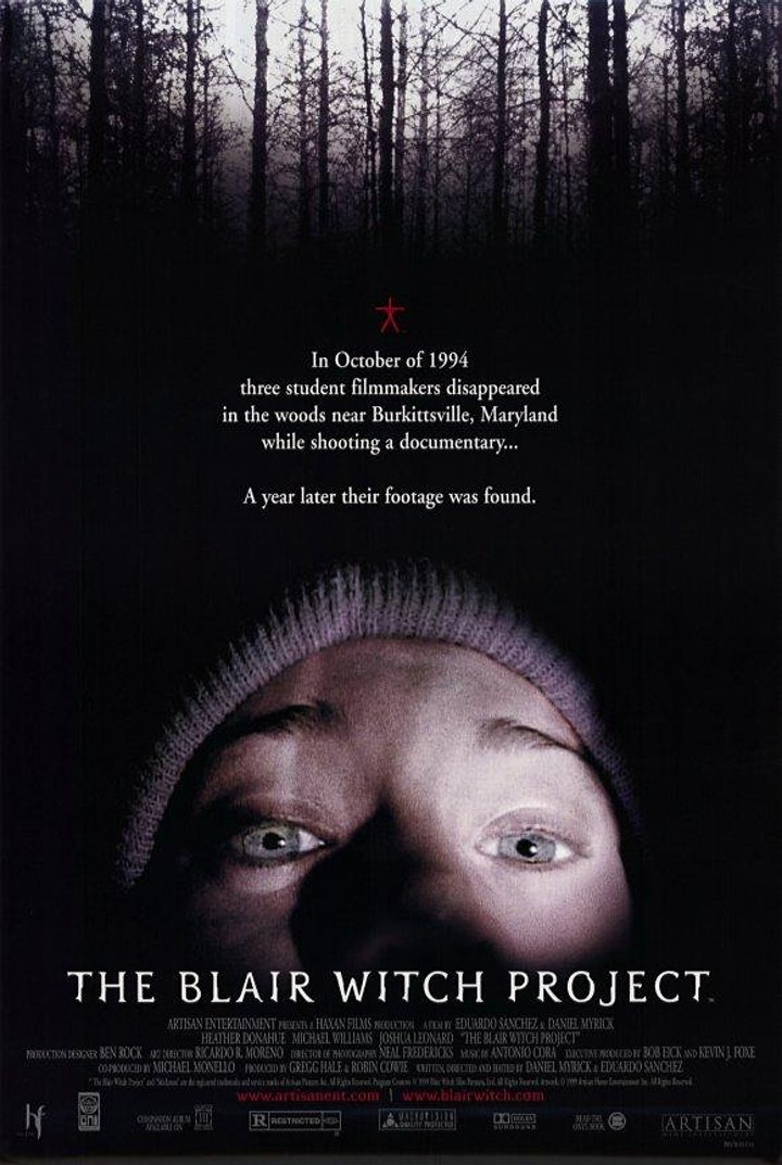 THE BLAIR WITCH PROJECT (1999 : 85mins) image