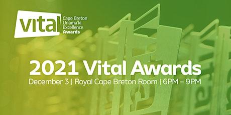 2021 Vital Cape Breton - Unama'ki Excellence Awards tickets