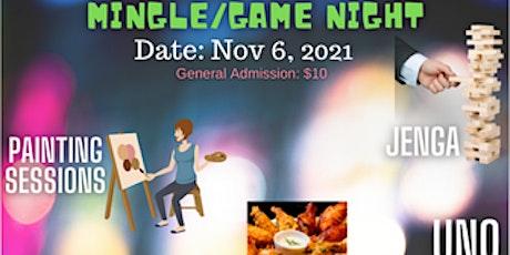MINGLE/GAME NIGHT tickets