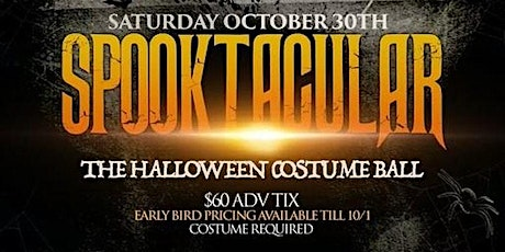 SPOOKTACULAR - Halloween Costume Yacht party tickets