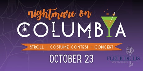 Nightmare on Columbia Stroll, Costume Contest & Concert tickets