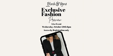 Live Fashion Preview Event tickets