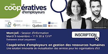 La coopérative d'employeurs : Une solution d'affaires innovante billets