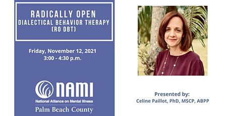 Radically Open Dialectical Behavior Therapy (RO DBT) Lecture tickets