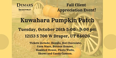 Fall Client Event at Kuwahara Farms! tickets