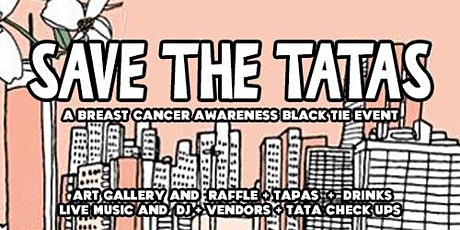 Save the Tatas : a Breast Cancer Awareness Art Show tickets