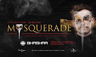 Chique MASQUERADE with DJ BHASKAR EUROPE TOUR !!! tickets