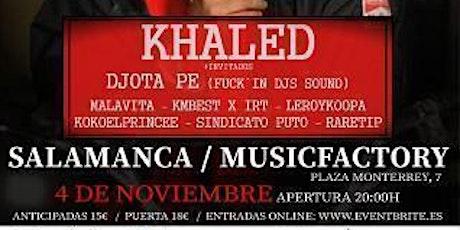 Khaled concierto Salamanca 4 de noviembre entradas