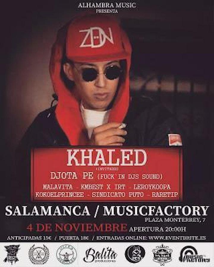 Imagen de Khaled concierto Salamanca 4 de noviembre