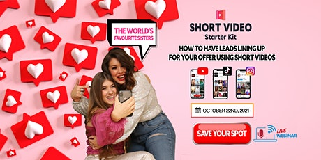 How to Have Leads Lining Up for Your Offer Using Short Videos tickets