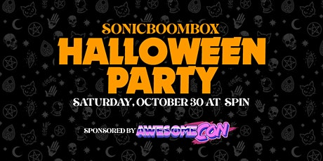Sonicboombox DC Halloween Party tickets