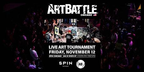 Art Battle Chicago - November 12, 2021 tickets
