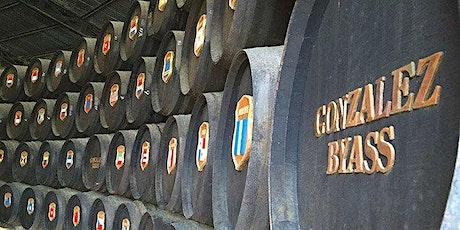 González Byass winery tasting with Basil Cosmos, sherry educator tickets