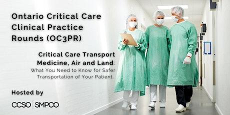 OC3PR: Critical Care Transport Medicine, Air and Land tickets
