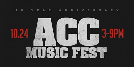 ACC MUSIC FEST tickets