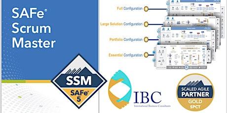 SAFe® Scrum Master 5.1  - Remote class tickets