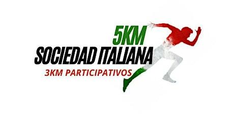Carrera 143 años Sociedad Italiana entradas